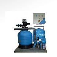 Systems of cleaning and recirculation of water