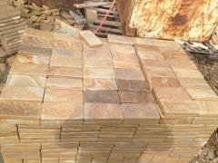 The stone blocks is okatanay