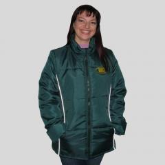 Куртка зимняя женская, зеленая