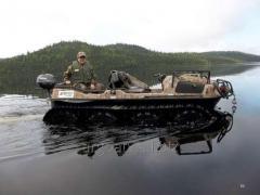 The all-terrain vehicle of the Slang 8х8 for