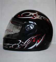 WF-01 crash helmet. TM York