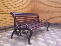Скамейка,скамейка чугунная, литье из чугуна, лавка