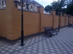 Bench, bench, sidewall, sidewall pig-iron