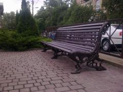 Скамейка, лавка садовая,литье чугунное,боковина