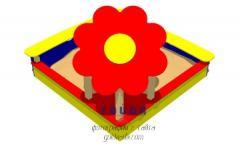 """Песочница """"Цветок-2"""" PO-4.14"""