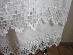 La cama de boda del lino. La ropa de cama de