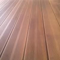 Boards terrace of a larch, a board a terrace larch