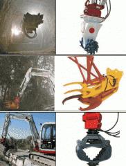 Навесное оборудование к экскаваторам пр-во