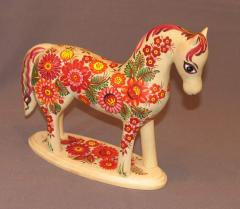 """Y """"Horse"""", New Year's gift,"""