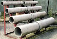 Асбестоцементные трубы безнапорные диам. 200 мм