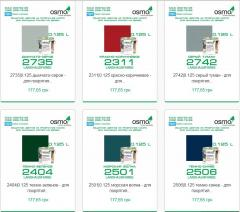 Opaque Osmo LANDHAUSFARBE paint for external