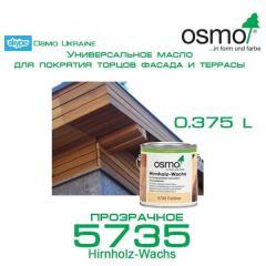 Воск Osmo HIRNHOLZ-WACHS для герметизации торцов.