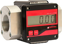 Electronic flowmeter of accounting of a big