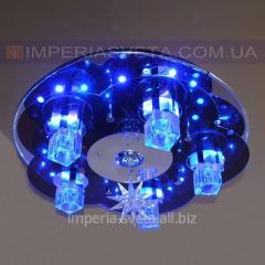 Люстра галогенная SVET шестиламповая с пультом дистанционного управления и диодной подсветкой