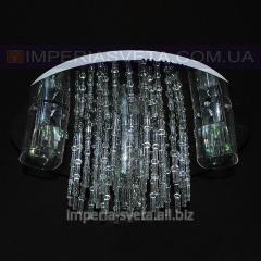Люстра галогенная TINKO четырехламповая с пультом дистанционного управления и диодной подсветкой