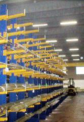 Стеллажи и секции складские по спецификации