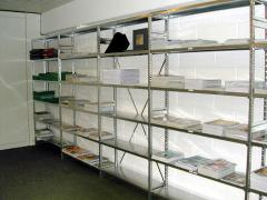 Стеллажи и секции складские для документации