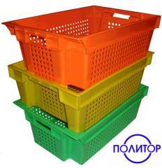 Ящики из пластика телескопические 600-400-200.33л