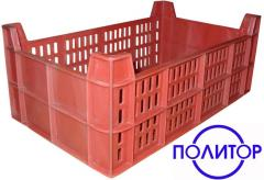 Boxes from polypropylene.