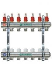 The collector for heating with a flowmeter of 5 Comisa