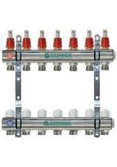 The collector for heating with a flowmeter of 7 Comisa