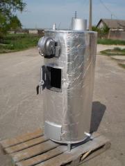 Котёл водяного отопления на твёрдом топливе
