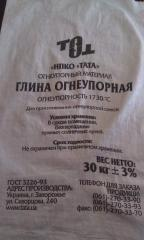 PGOSA refractory clay (bag of 30 kg)
