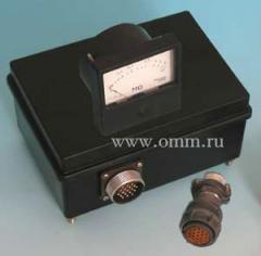 Equipamento eléctrico de controle e medir...