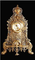 Годинник коминковий, бронза