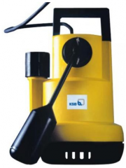 Submersible electric pumps for the polluted water