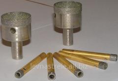 Drill diamond d = 0.5 mm - 120 mm, Kiev, the Price