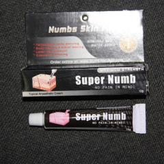 The anesthetizing Super Numb cream of 30 grams