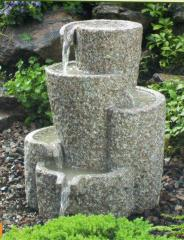 Fountains are garden, park, granite products,