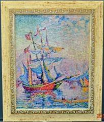 4ф14 Поль Синьяк. Paul Signac - The Port of Golden