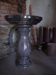 Fountains from granite for a garden, cheap