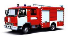 Пожарный автомобиль АЦ-20-2,5 серии КАСАТКА