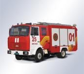 Пожарный автомобиль комбинированного тушения