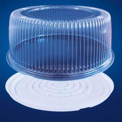 Упаковка для тортов и рулетов круглая Код 7111