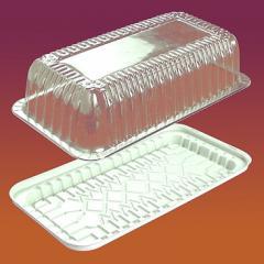 Упаковка для тортов и рулетов пластиковая...