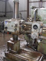 Machine radial-drilling 2K52, 1988