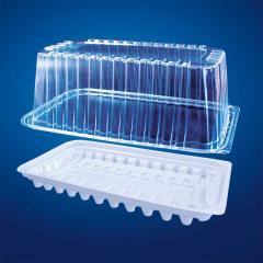 Упаковка для тортов и рулетов прямоугольная Код