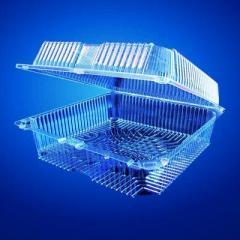 Квадратный контейнер с неразделёнными дном и...