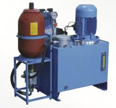 Maslostantion hydraulic (gidromaslostantion,
