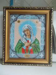 Вышитые картины и иконы ручной работы недорого