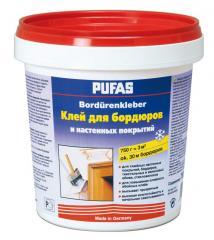 Клей для настенных покрытий и бордюров Pufas