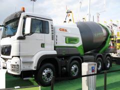 Avtobetonomiksera CIFA of the ENERGYA E8 model