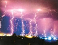 Lightning protection block