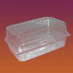 Упаковка прямоугольная из пластика Код 2716