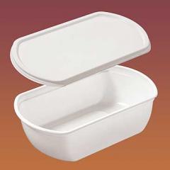 Контейнер пластиковый для мороженого крышка Код 1007к