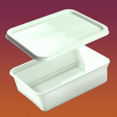 Container Code 1009, rectangular for ice cream